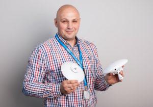 Adam Wawrzynek, nasz ekspert od rozwiązań Ubiquiti.