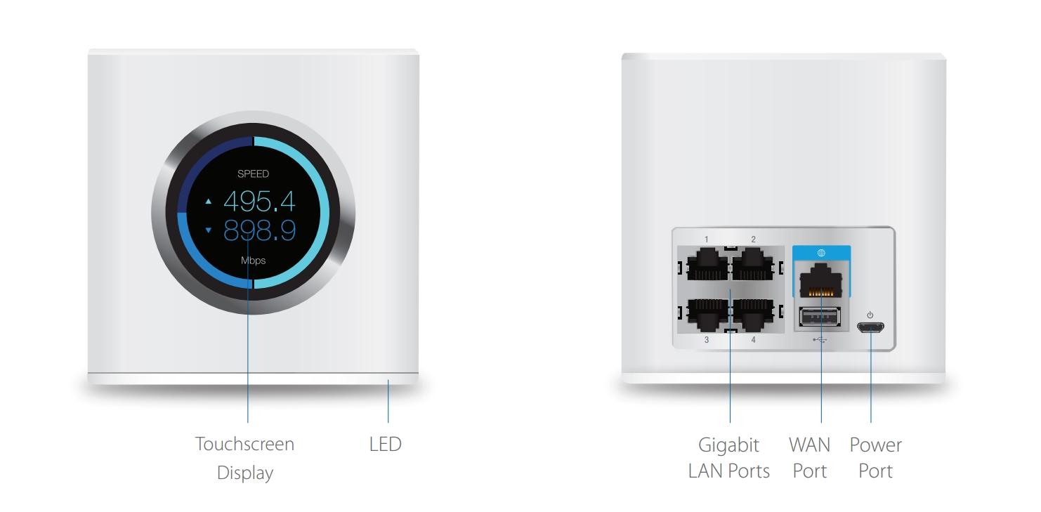 Router AFi-R - budowa/ AmpliFi
