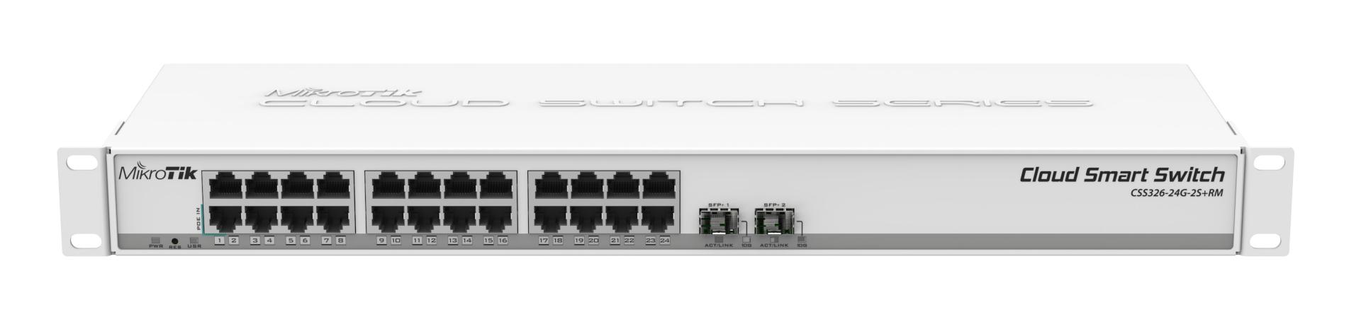 Cloud Smart Switch 326-24G-2S+RM/ MikroTik