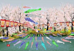 Jedna ze stworzonych w Excelu prac Japończyka Tatsuo Horiuchi/ Źródło: Microsoft