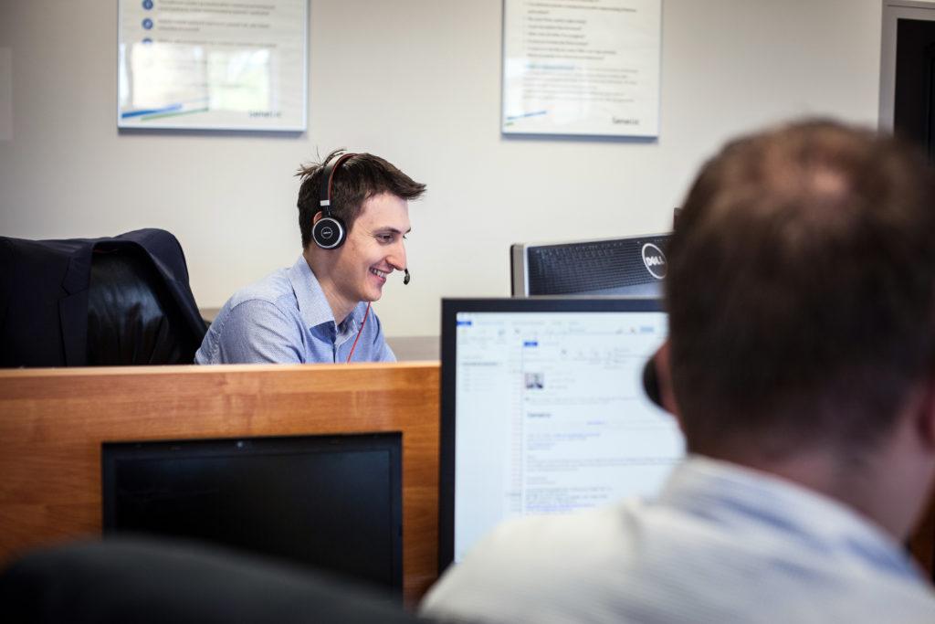 2017 rok to też setki godzin rozmów z Wami :) Dziękujemy za zaufanie! Na zdjęciu Mateusz Wepa, nasz Business Development Manager.