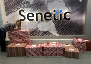 Naszą zbiórkę dzielnie koordynowała Aneta, nasza specjalistka od HR. To z nią spotykają się wszyscy, którzy chcą dołączyć do zespołu Senetic :)