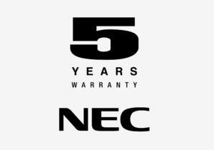 5 lat gwarancji na monitory NEC w Senetic!