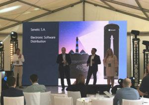 Nagrodę odbierał Jacek Kotynia, nasz Software Business Unit Manager.