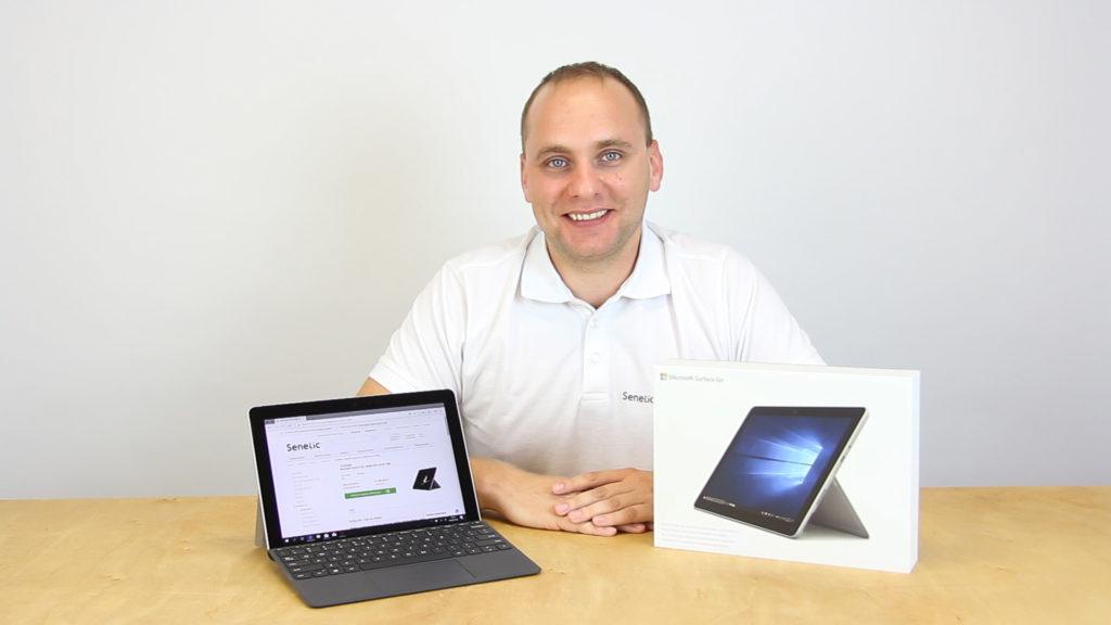 Jacek Kotynia, nasz Software Business Unit Manager, o nowym Surface Go wie dosłownie wszystko! :)