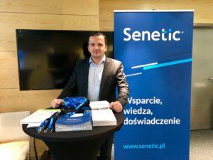 Tomasz Stojek, Technical Services Director w Senetic na Forum Cyfryzacji w Lublinie