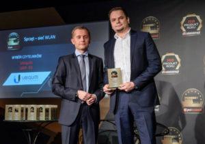 Nagrodę w imieniu producenta odebrał Michał Dobraszkiewicz, Dyrektor Marketingu w Senetic.
