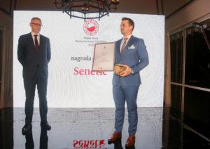 Podczas gali naszą firmę reprezentował Łukasz Bojar, wiceprezes Senetic.