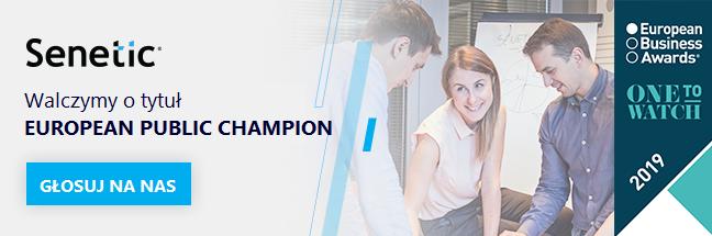 Pomóż nam zdobyć tytuł European Public Champion 2019!