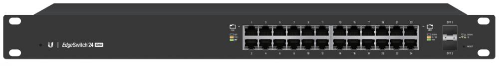 Ubiquiti EdgeSwitch 24 Port Gigabit 24V/802 3af/at PoE 250W