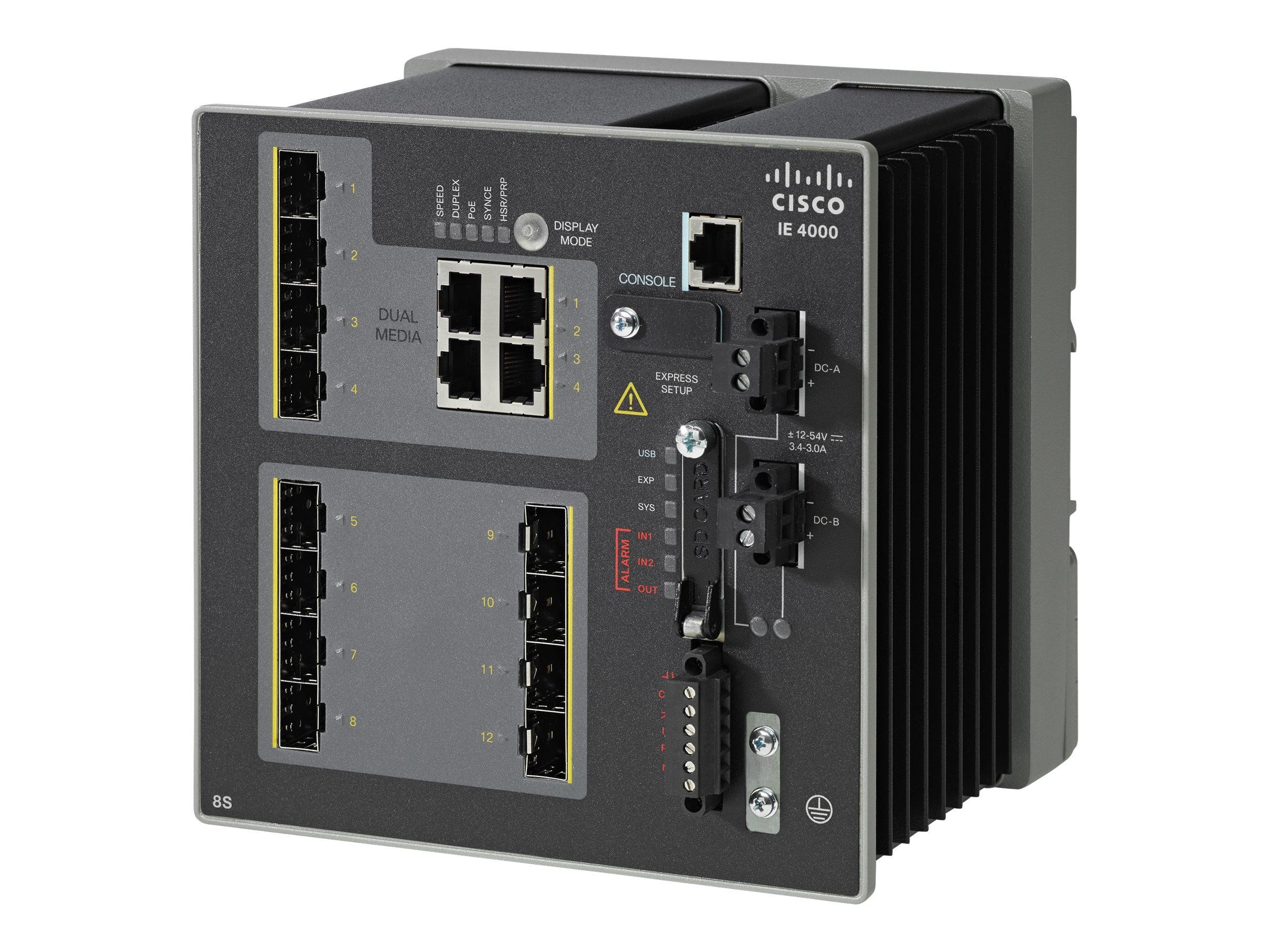 IE-4000-8GS4G-E